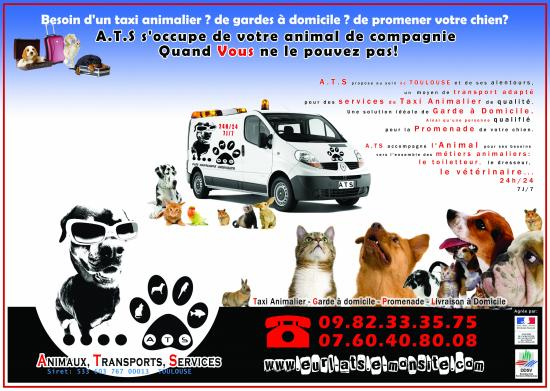 animaux transports services toulouse adresse t l phone. Black Bedroom Furniture Sets. Home Design Ideas